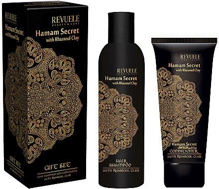 Haarpflegeset - Revuele Hamam Secret (Shampoo 250ml + Conditioner 200ml) — Bild N1