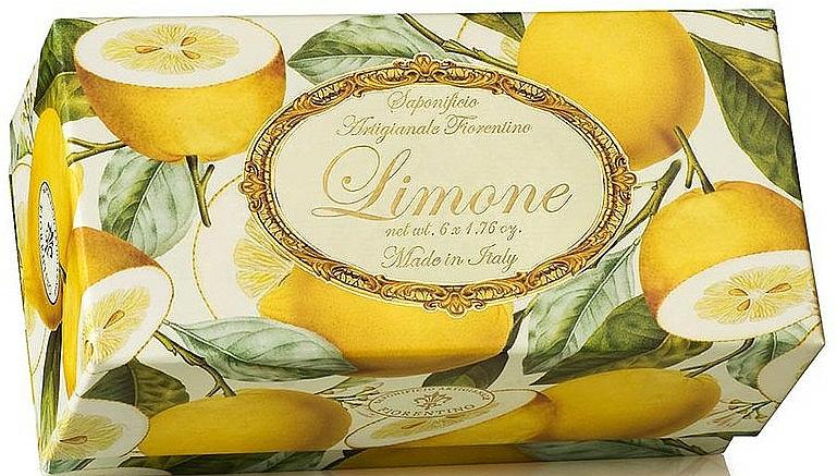 Naturseifen Geschenkset 6 St. - Saponificio Artigianale Fiorentino Lemon (6x50g) — Bild N1