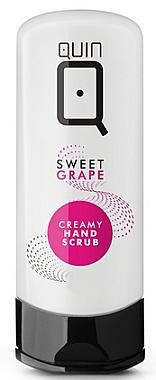 Cremiges Handpeeling - Silcare Quin Hand Cream Peeling Sweet Grape — Bild N1