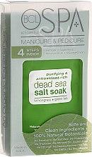 Düfte, Parfümerie und Kosmetik Körperpflegeset - BCL SPA Manicure & Pedicure Lemongrass + Green Tea (Peeling 28gr + Salze 14gr + Maske 15ml + Creme 15ml)