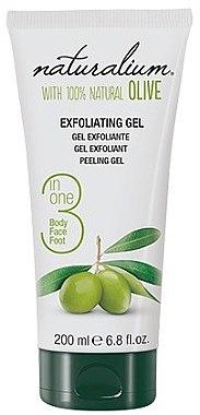 Körpergel-Peeling mit Olivenöl - Naturalium Gel Exfoliante Oliva Natural — Bild N1