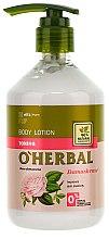 Düfte, Parfümerie und Kosmetik Erfrischende Körperlotion mit Damastrosenextrakt - O'Herbal Toning Lotion