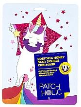 Düfte, Parfümerie und Kosmetik Straffende Lifting-Doppelkinn-Maske mit Propolis- und Honigextrakt - Patch Holic Costopia Honey Star Double Chin Mask