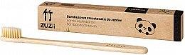 Düfte, Parfümerie und Kosmetik Bambuszahnbürste weich beige - Zuzii Soft Toothbrush