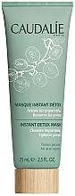 Düfte, Parfümerie und Kosmetik Detox-Gesichtsmaske zur tiefen Reinigung mit rosa Tonerde - Caudalie Instant Detox Mask