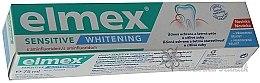 Düfte, Parfümerie und Kosmetik Aufhellende Zahnpasta mit Aminfluorid für empfindliche Zähne - Elmex Professional Sensitiv Whitening Teeth