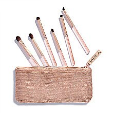 Düfte, Parfümerie und Kosmetik Make-up Pinselset in Kosmetiktasche - Nabla Denude Eye Brush Set