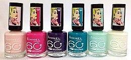 Düfte, Parfümerie und Kosmetik Nagellack - Rimmel 60 Seconds Rita Ora