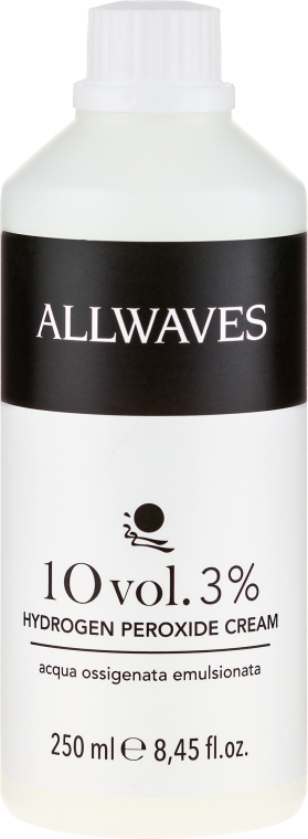 Entwicklerlotion 3% - Allwaves Cream Hydrogen Peroxide 3% — Bild N1