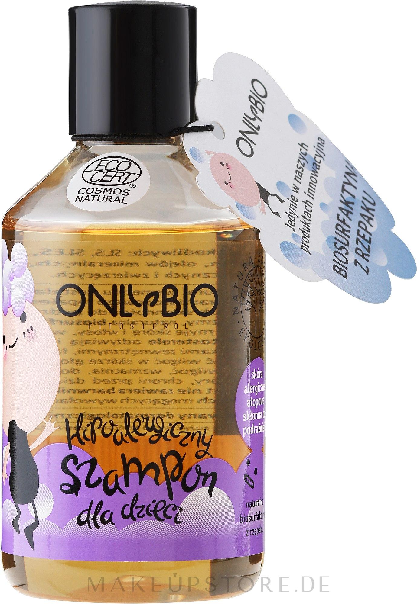 Hypoallergenes Shampoo für alle Haartypen - Only Bio Fitosterol Hypoallergenic Shampoo — Bild 250 ml