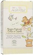 Düfte, Parfümerie und Kosmetik Sanftes Baby-Duschgel für Körper und Haar mit Reisproteinen und Hibiskusextrakt - Anthyllis Gentle Baby Bath