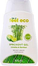 Düfte, Parfümerie und Kosmetik Natürliches Duschgel Limette & Bambus - Feel Eco Lime & Bamboo Shower Gel