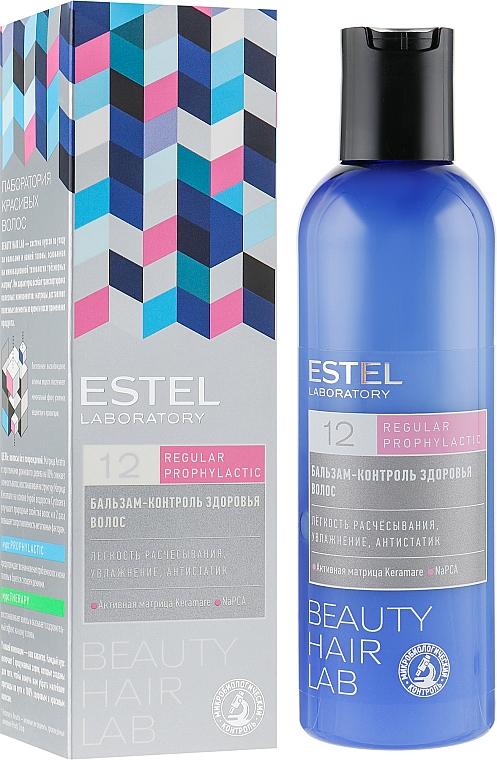 Feuchtigkeitsspendender Haarbalsam für leichtere Kämmbarkeit - Estel Beauty Hair Lab 12 Regular Prophylactic — Bild N1