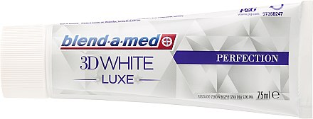Zahnpasta 3D White Luxe Perfection - Blend-a-med 3D White Luxe Perfection Toothpaste — Bild N2