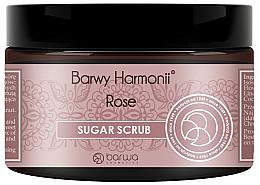 Düfte, Parfümerie und Kosmetik Zucker-Körperpeeling Rose - Barwa Harmony Sugar Rose Peeling