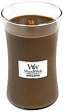 Düfte, Parfümerie und Kosmetik Duftkerze im Glas Amber & Incense - WoodWick Hourglass Candle Amber & Incense