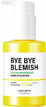 Düfte, Parfümerie und Kosmetik Aufhellende und reinigende Schaummaske für das Gesicht mit Vitamin C - Some By Mi Bye Bye Blemish Vita Tox Brightening Bubble Cleanser