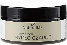 Düfte, Parfümerie und Kosmetik Schwarzes Körperpeeling aus reinem Olivenöl - Natural ME Savon Noir Black Soap