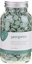 Düfte, Parfümerie und Kosmetik Mundspültabletten-Minze - Georganics Mouthwash Tablets Spearmint