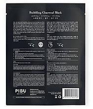 Gesichtspflegeset - Pibu Beauty Bubbling Charcoal Mask Set (Gesichtsmasken 5x27g) — Bild N3