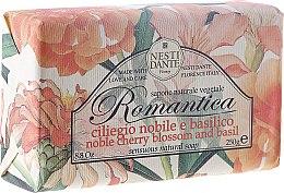 Naturseife Noble Cherry Blossom & Basil - Nesti Dante Natural Soap Romantica Collection — Bild N1