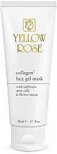 Düfte, Parfümerie und Kosmetik Gesichtsgel-Maske mit Kollagen - Yellow Rose Collagen2 Gel Mask