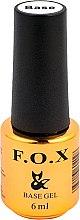 Düfte, Parfümerie und Kosmetik Base für Gelnagellack - F.O.X Base Gel