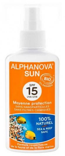 Sonnenspray - Alphanova Sun Protection Spray SPF 15 — Bild N1