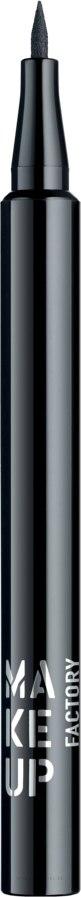 Liquid Eyeliner - Make Up Factory Full Control Liquid Liner — Bild 01 - Black
