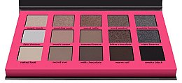 Lidschattenpalette - Wibo Neutral Eye Shadow Palette — Bild N2