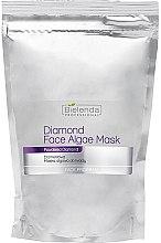 Düfte, Parfümerie und Kosmetik Alginat-Gesichtsmaske mit Diamantpulver - Bielenda Professional Diamond Face Algae Mask (Nachfüller)