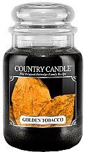 Düfte, Parfümerie und Kosmetik Duftkerze im Glas Golden Tobacco - Country Candle Golden Tobacco