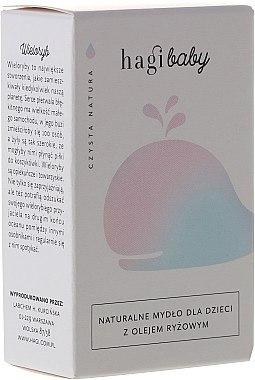 Natürliche Seife für Kinder mit Reisöl - Hagi Baby Soap — Bild N1