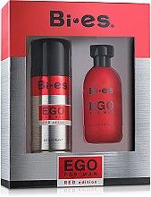 Düfte, Parfümerie und Kosmetik Bi-Es Ego Red Edition - Kosmetikset (Eau de Toilette/100ml + Deodorant/150ml)