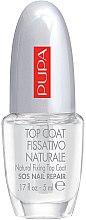 Düfte, Parfümerie und Kosmetik Ultraglänzender und langanhaltender Nagelüberlack - Pupa Sos Nail Repair Natural Fixing Top Coat