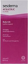 Düfte, Parfümerie und Kosmetik Feuchtigkeitsspendende Körpermilch - SesDerma Laboratories Acglicolic Body Milk