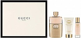 Düfte, Parfümerie und Kosmetik Gucci Guilty Pour Femme - Duftset (Eau de Parfum 90ml + Körperlotion 50ml + Eau de Parfum 15ml)