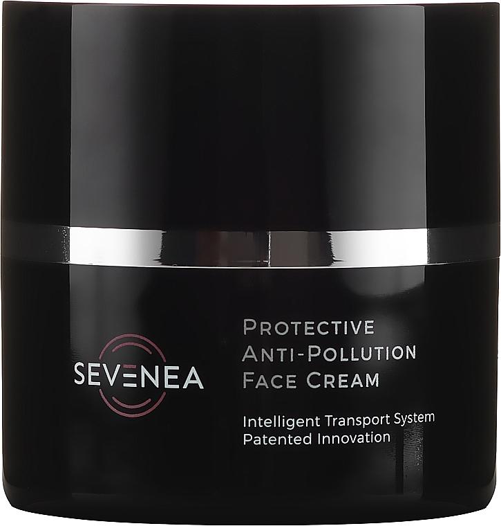 Schützende Anti-Falten Gesichtscreme mit Vitaminen SPF 50 - Sevenea Protective Anti-Pollution Face Cream SPF50 — Bild N2
