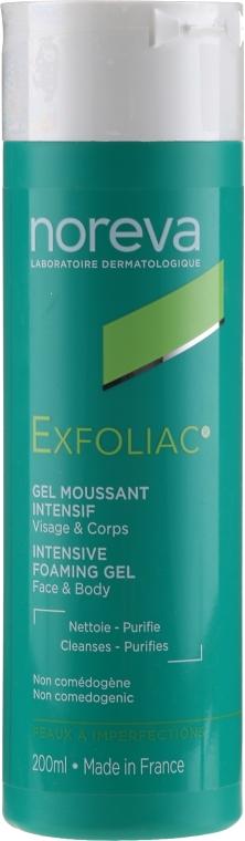 Reinigendes Schaumgel gegen Unvollkommenheiten - Noreva Laboratoires Exfoliac Gel Moussant — Bild N1