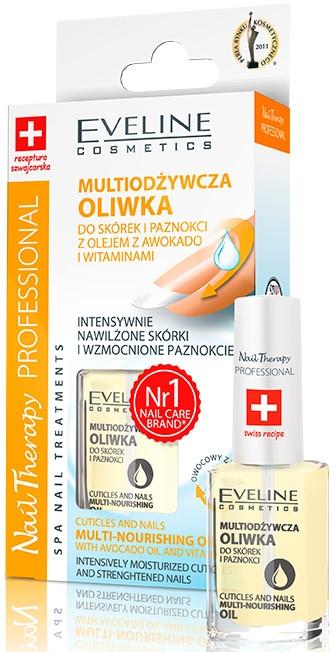 Pflegeöl für Nägel und Nagelhaut - Eveline Cosmetics Nail Therapy Professional  — Bild N2