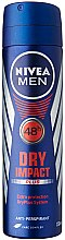 Düfte, Parfümerie und Kosmetik Deospray Antitranspirant - Nivea Deodorant Dry For Men