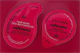 2-stufige Haarpflege - Le Cafe de Beaute Cafe Mimi Sos Restoration (Haarmaske 20ml + Haarserum 5ml) — Bild N1