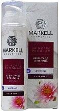 Düfte, Parfümerie und Kosmetik Pflegende Tagescreme mit Lotosblume - Markell Cosmetics Every Day Cream Gel