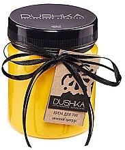 Düfte, Parfümerie und Kosmetik Nährende Handcreme mit Oliven-, Sanddorn- und Zitrusfrüchtenöl - Dushka
