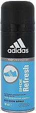 Düfte, Parfümerie und Kosmetik Adidas Foot Shoe Refresh Deodorant - Deospray für Schuhe