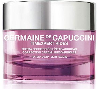 Korrigierende Anti-Falten Gesichtscreme - Germaine de Capuccini Timexpert Rides Correction Light Cream — Bild N1
