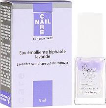 Düfte, Parfümerie und Kosmetik Zweiphasiger Lavendel-Nagelhautentferner - Peggy Sage Lavender Two-Phase Cuticle Remover
