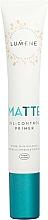 Düfte, Parfümerie und Kosmetik Mattierender Gesichtsprimer zur Porenverengung - Lumene Matte Oil-Control Primer