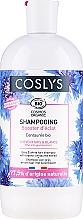 Düfte, Parfümerie und Kosmetik Shampoo für graues und weißes Haar mit Bio Kornblumenextrakt - Coslys