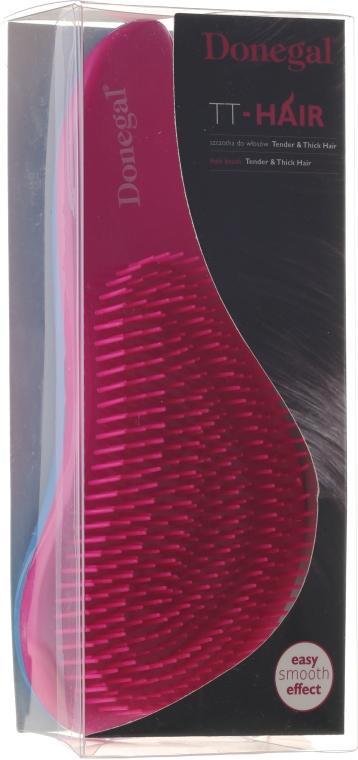 Entwirrbürste rosa-blau 1218 - Donegal TT-Hair — Bild N1